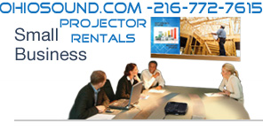 rent a projector small business